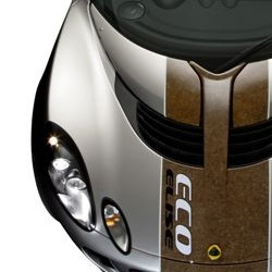Clean Tech eco-vehicle from Lotus made of sustainable materials